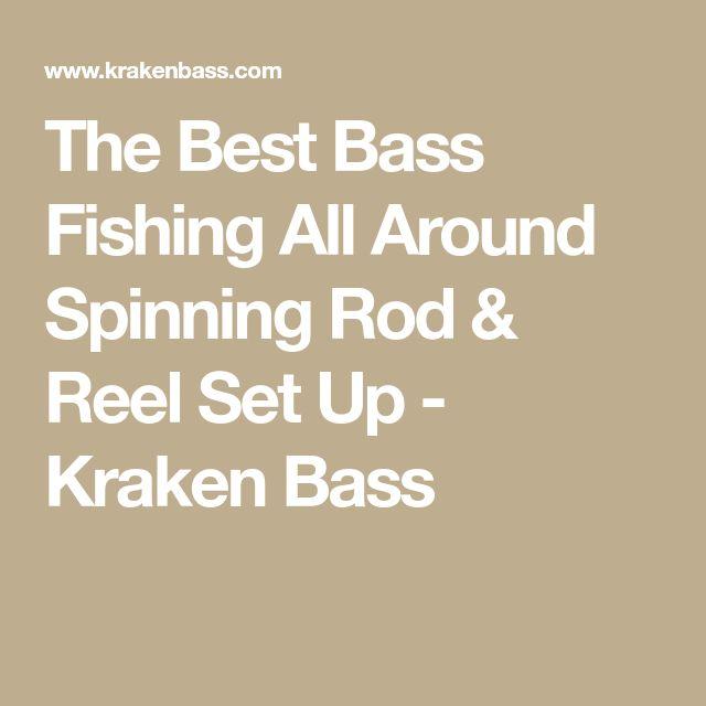 The Best Bass Fishing All Around Spinning Rod & Reel Set Up - Kraken Bass