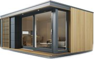 Eco Pod An Eco Friendly Outdoor Office Designed By Pod Space