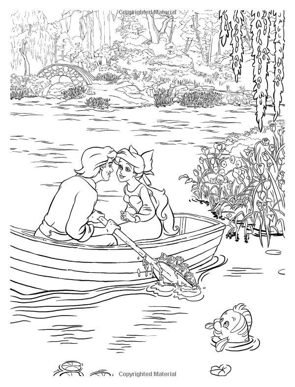 Thomas Kinkade Coloring Book Elegant Amazonsmile Disney ...