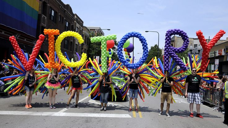 Voyage Summer 2015 - Pride Parade!