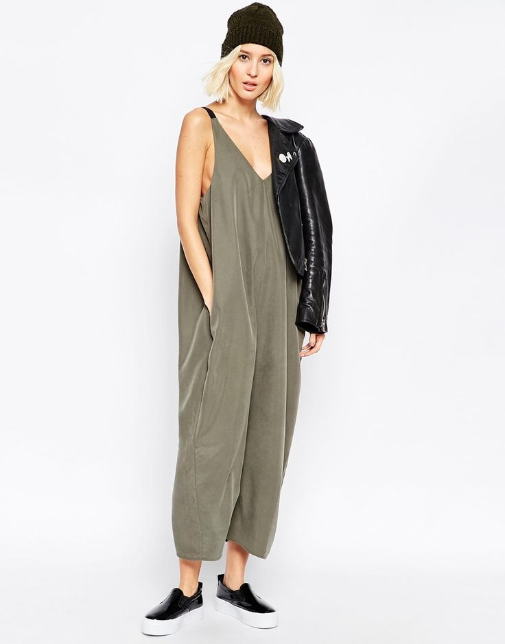 Image 4 of ASOS Oversized Minimal Jumpsuit