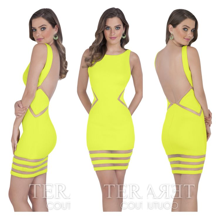 Yay or nay? Terani 1611p0003. Available in Chartreuse, Royal, Red, and Black. Only $175! #miabellacouture #californiaglam #terani #teranicouture #teraniprom #prom #homecoming #cocktaildress #girlsnight