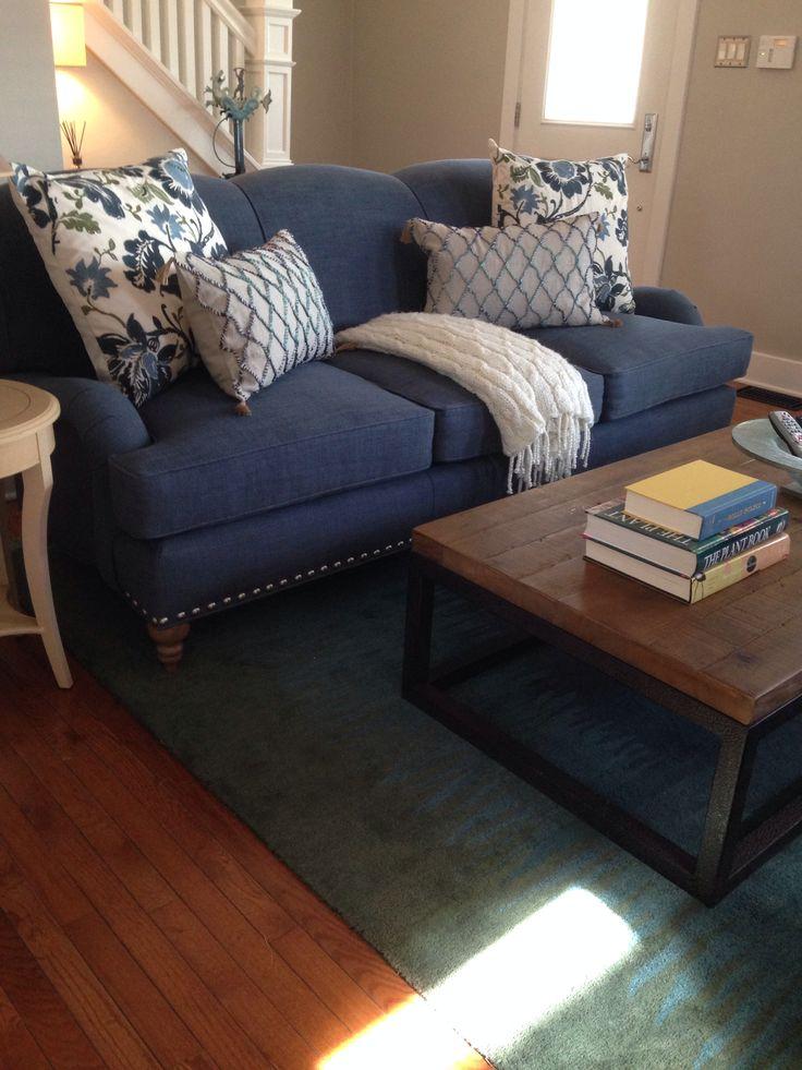 Indigo The Way To Go Arhaus Outer Banks Sofa With Pb C