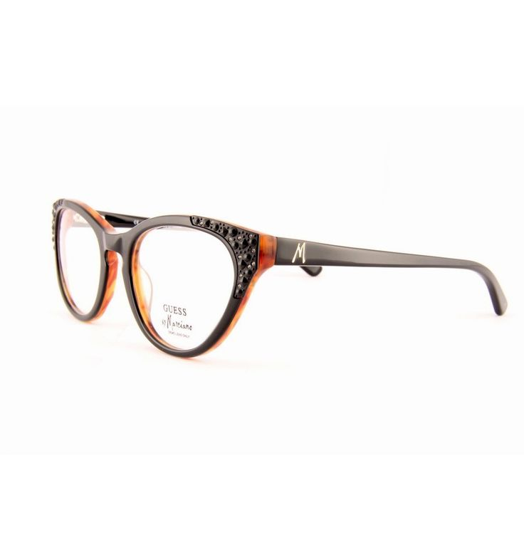 #guess #eyeglasses #frames #design #style #fashion #accessories #women Guess by Marciano GM133 blkam. #luxuryoptic #Prague