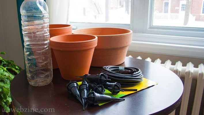 On teste 3 systèmes d'irrigation simples et faciles à installer