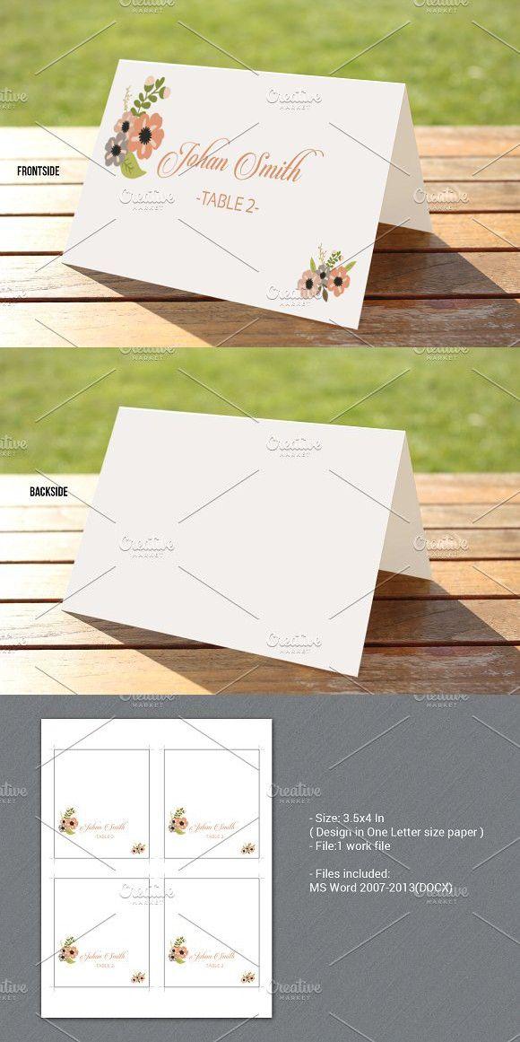 Letter Templates Microsoft Word 2007%0A Wedding Places  Wedding Place Cards  Card Wedding  Wedding Fonts   Stationery Templates  Wedding Card Templates  Place Card Template  Makeup  Artist Business