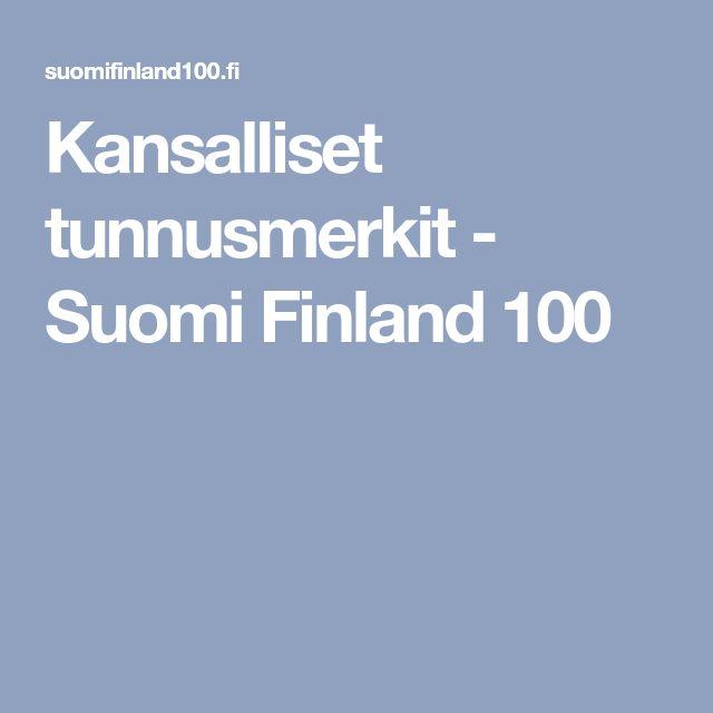 Kansalliset tunnusmerkit - Suomi Finland 100