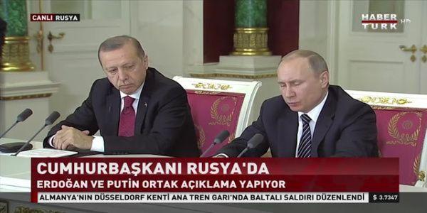 Η γλώσσα του σώματος - Μάλλον δεν πήγαν καλά τα πράγματα για τον Ερντογάν με τον Πούτιν