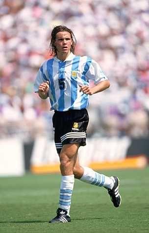 Fernando Redondo del Real Madrid y la Selección Argentina.