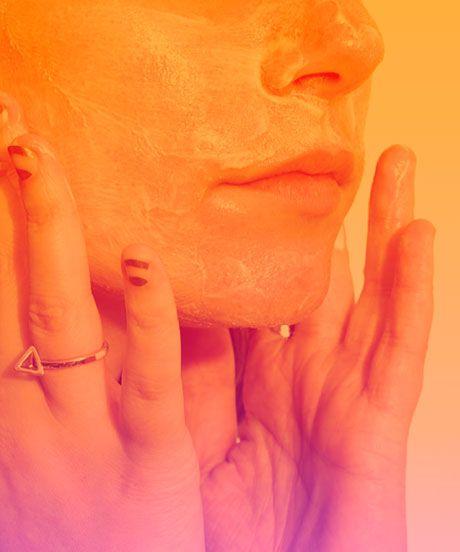 Turmeric For Skin, Hair - Face Mask, Cream