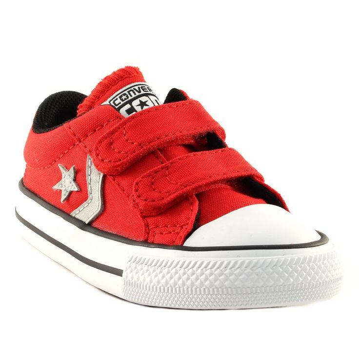 241A CONVERSE STAR PLAYER EV 2V OX ROUGE www.ouistiti.shoes le spécialiste internet #chaussures #bébé, #enfant, #fille, #garcon, #junior et #femme collection printemps été 2016