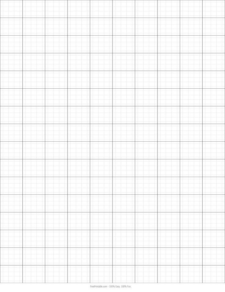 Graph Paper Printable 8 5x11 Free Print Me Printables