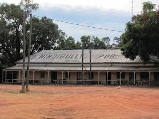 Nindygully - Qld's oldest pub - a great place to camp for just the cost of a beer in the pub