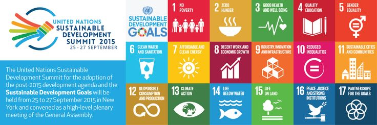 Each of the 17 SDGs is part of the triple bottom line.