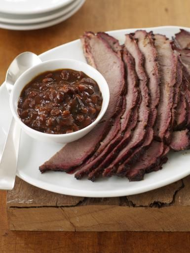 Smoked Brisket with Southwestern Wet Rub - James Baigrie/Getty Images