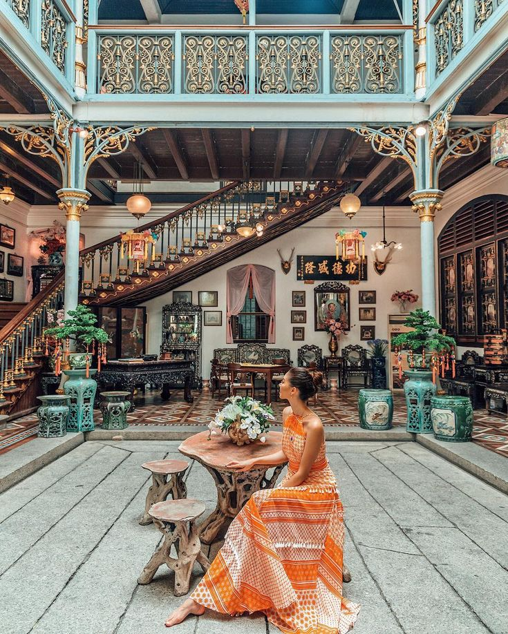Travel Goals | Visit the Penang Peranakan Mansion …