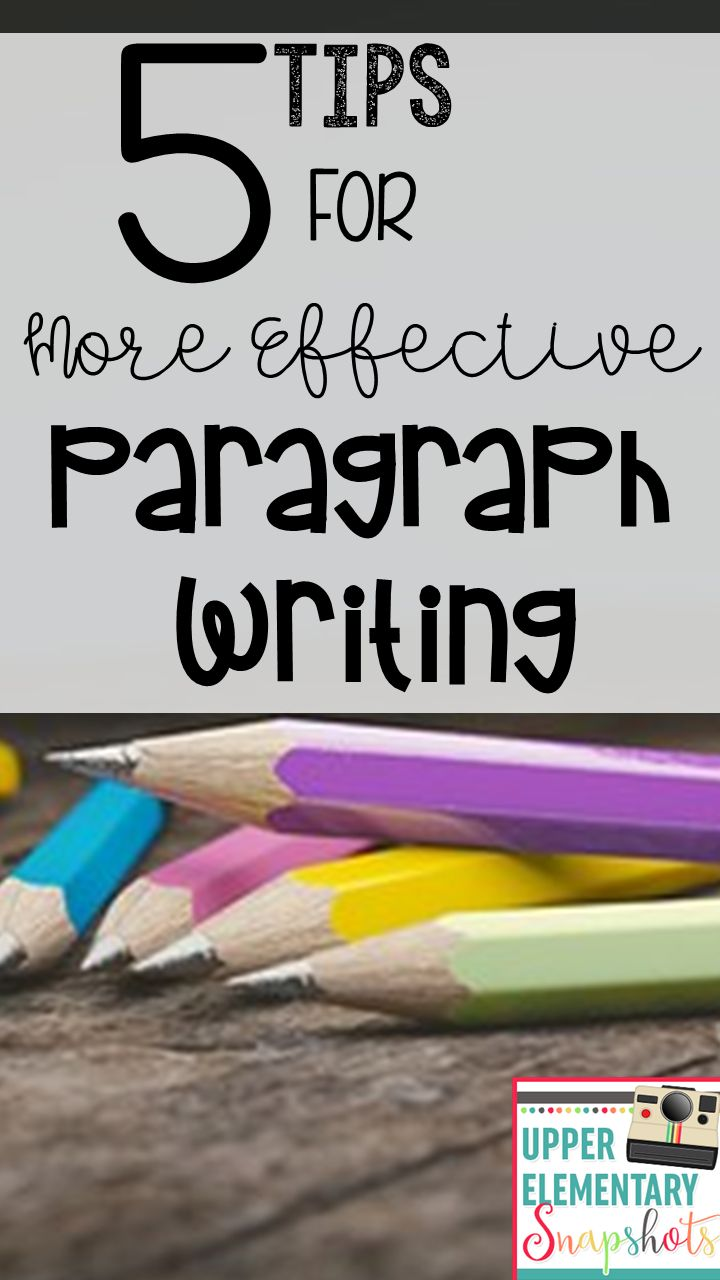 Teaching paragraph writing can be challenging. Not only are there multiple components and a specific structure to follow, there are also factors involved like word choice, content, and writing style. Even though it's not easy, teaching writing is one of my favorite subjects! In this post, I'd like to share with you some tips that I've found to help make student paragraph writing more successful.