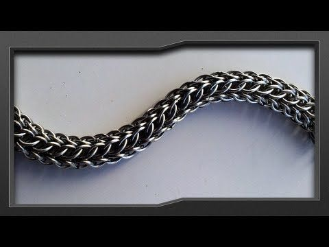 ▶ Chainmail | Hilt Chain Tutorial, Maglia Persiana a 3 Facce [Re-up] - YouTube