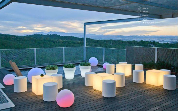 Hotel - Barcelona, Hiszpania Meble New Garden #magic #evening #magicallights #design  #LEDlighting #creative #newgarden #hagea