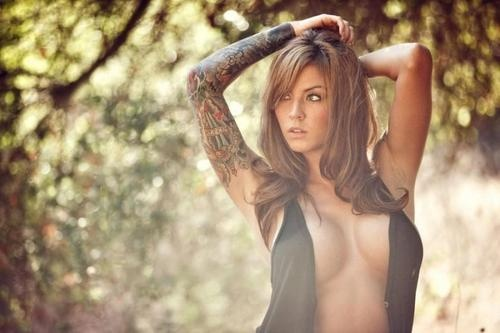Monica Renee, American Model.
