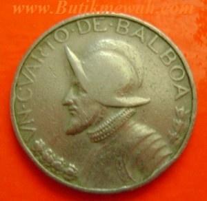 Panama Balboa coin