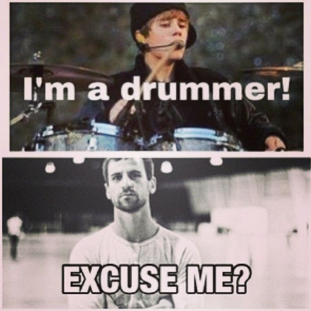 LOL Matt Greiner is one of the most intense drummers in the metal scene right now