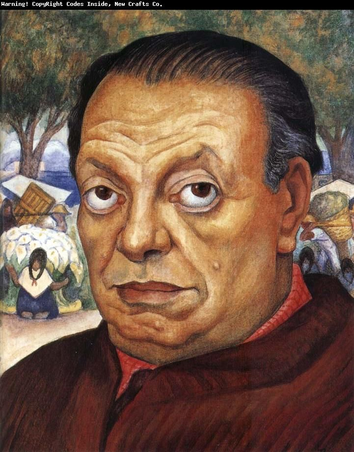 Diego Rivera self portrait