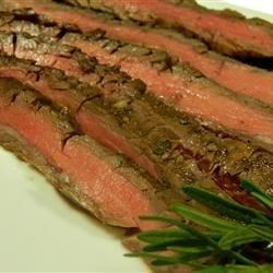 Grilled Balsamic and Soy Marinated Flank Steak - Allrecipes.com