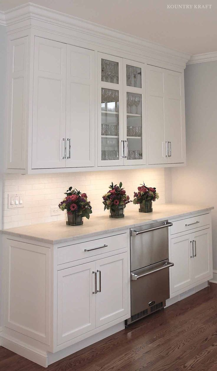 Kitchen cabinets darien ct - White Custom Cabinetry New Canaan Connecticut