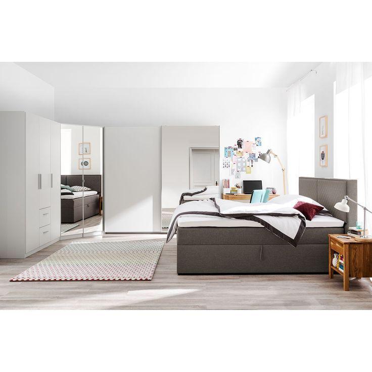 Betten Mit Matratze Und Lattenrost 140200 Weiss Polsterbett