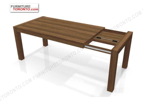 Modern Extendable Walnut Dining Table From Furniture Toronto