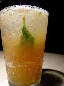 Ginger Ale (refrigerante caseiro de gengibre)