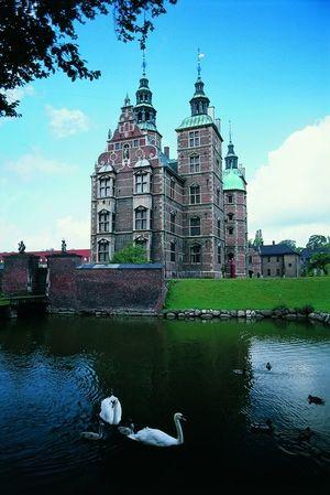 Castillo Rosenborg,Dinamarca