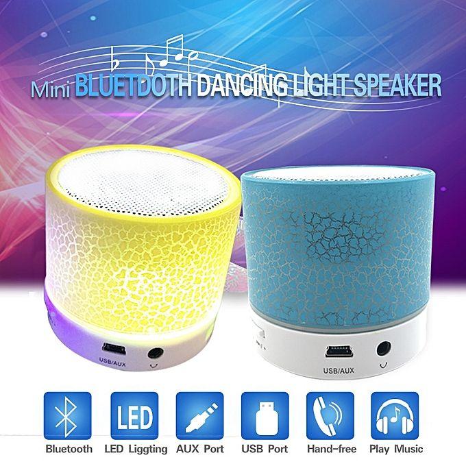 Buy Generic Led Wireless Mini Speaker Usb Fm Radio To Bluetooth Speakers Player Blue Best Price Online Bluetooth Speakers Cool Bluetooth Speakers Bluetooth