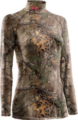 Take your hunt to the next level with this Underarmour Realtree Xtra camo. It's meant for the active lifestyle - Locks in body heat and accelerates moisture wicking. #Realtreecamo