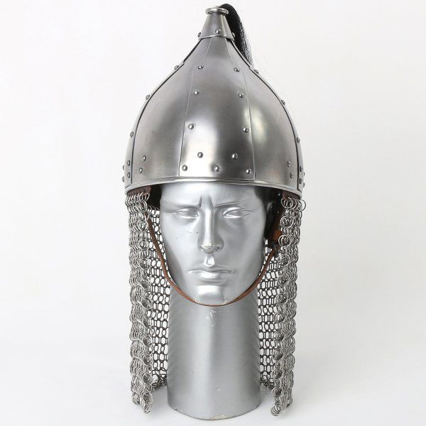 Turkish plumed helmet