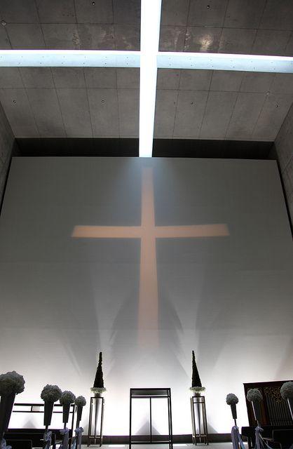 Cappella Di Mare, Awaji Yumebutai, Awaji, Hyogo, Japan. Work of Tadao Ando