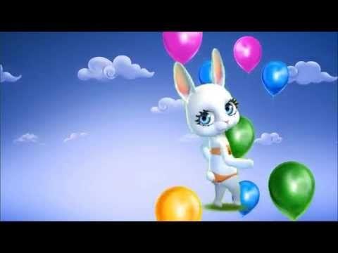 ZOOBE зайка Поздравление с Днём Рождения - YouTube