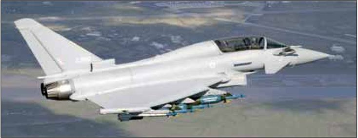 kits de avión RC Superfighter, escala del Eurofighter EF-2000.Europe