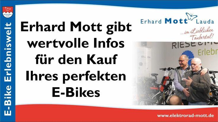 Wertvolle Tipps Zum E Bike Kauf E Bike Experte Erhard Mott Youtube Mit Bildern Elektro Rad E Biker Zahnriemen