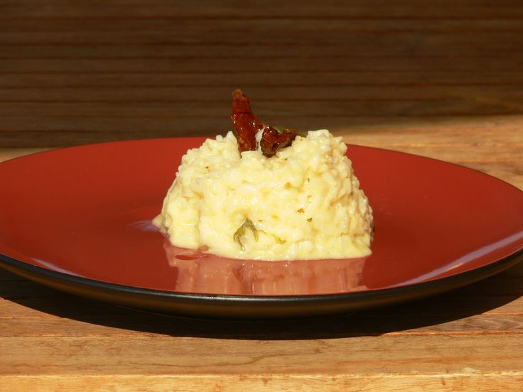 'as easy as it gets' creamy risotto