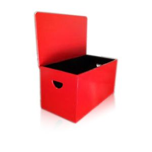Red Toy Box by Woodby