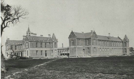 The Alfred Hospital in Melbourne,Victoria in 1870.