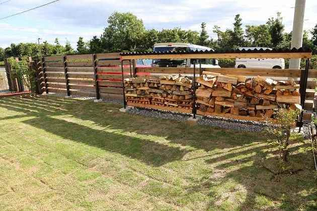 ワイルド風味満載のお庭 | 施工例 | 浜松のエクステリア・外構なら都田建設