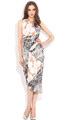 Marble Midi Dress by WISH | Ladies Dresses Online | @ alibiOnline