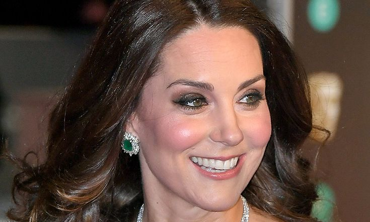 Kate Middleton's BAFTA 2018 diamond and emerald earrings are so clever