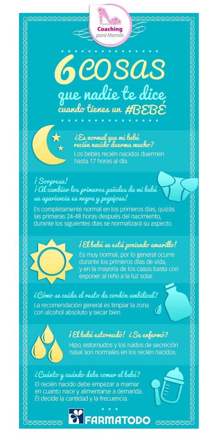 ¡Tómalo en cuenta! #Bebe #Salud