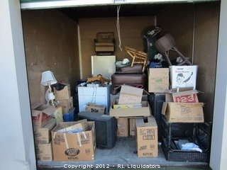 10 X 15 Storage Unit Contents From Hwy 99 Self In Galt California