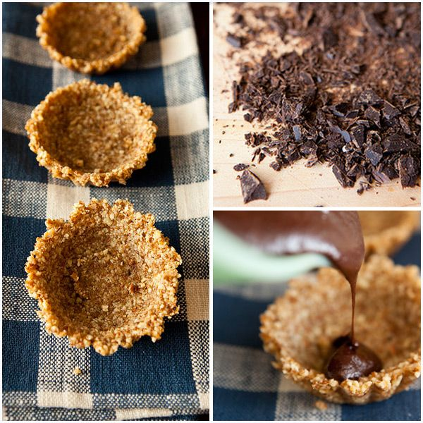 A Chilled Truffle Tart With A Buttery Almond Meal Crust For Those Special Occasions By GreenChef Julia Gartland