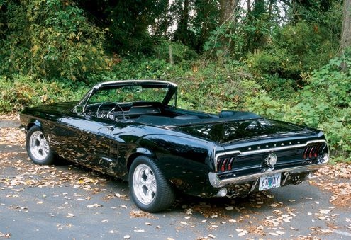 Vintage Ford Mustang   car information for model 1967 Ford Mustang cabriolet ss, retro car ...
